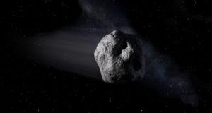Artist's concept of a near-Earth object. Image credit: NASA/JPL-Caltech