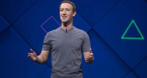 Mark Zuckerberg gives a keynote address the F8 developer conference.(Courtesy: Facebook)