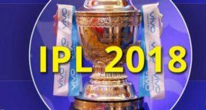 IPL 2018 trophy winner